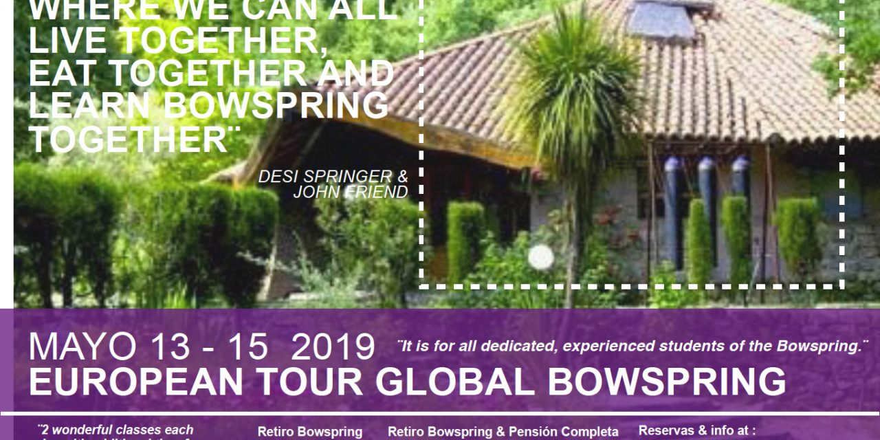 Retreat Spain Bowspring Desi Springer & John Friend