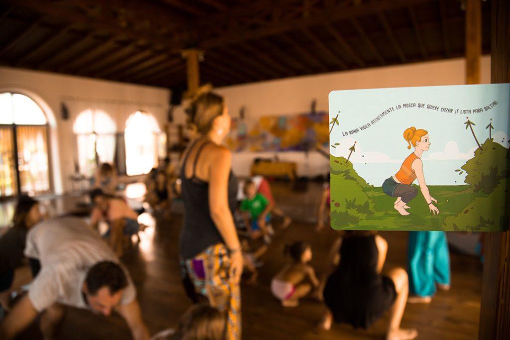 Herramienta para clases yoga niños